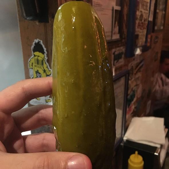 Pickle @ Burger Joint at Le Parker Meridian