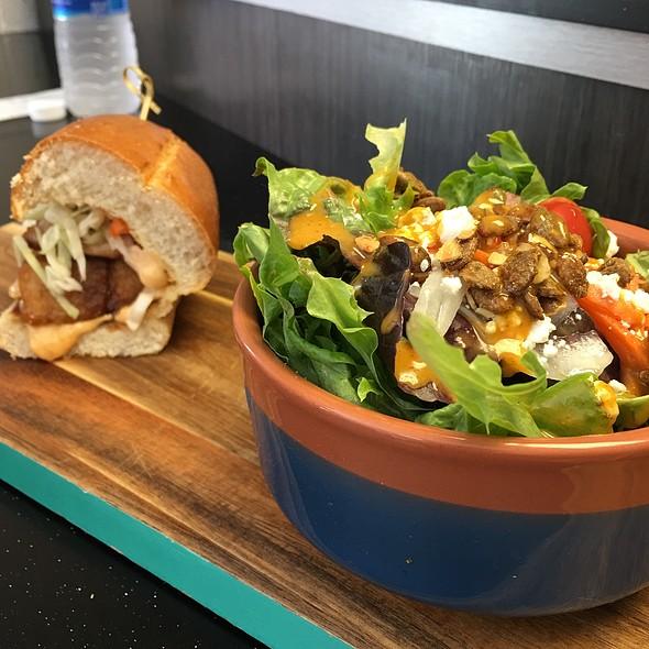 Ninja And Salad @ Bad As's Sandwich