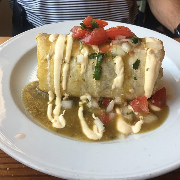 Shrimp Burrito @ Dos Perros