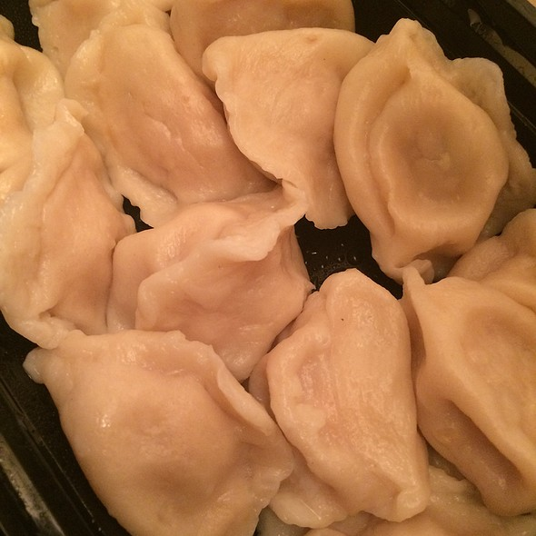 Pork And Napa Cabbage Dumplings