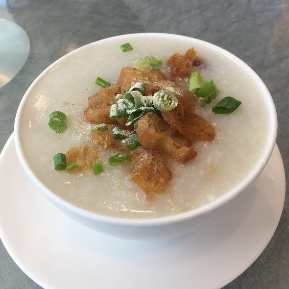 Porridge With Century Egg & Chicken