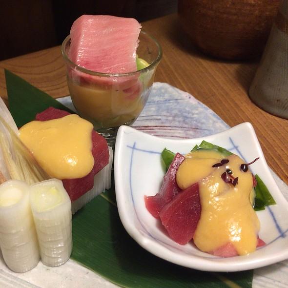 Raw Tuna With Miso