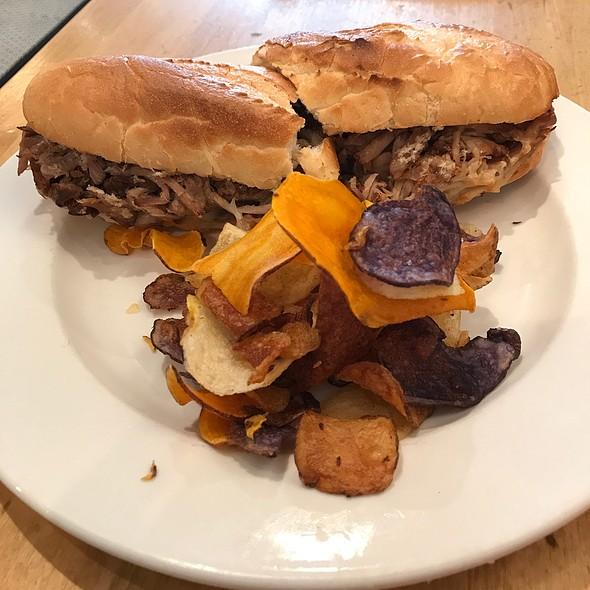 Mosher Sandwich- Pulled Pork