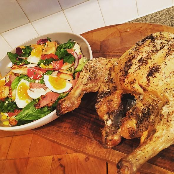 Herb And Garlic Roasted Chicken