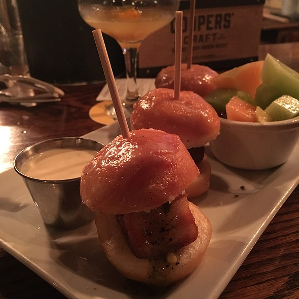 Pork Belly Donut Sliders