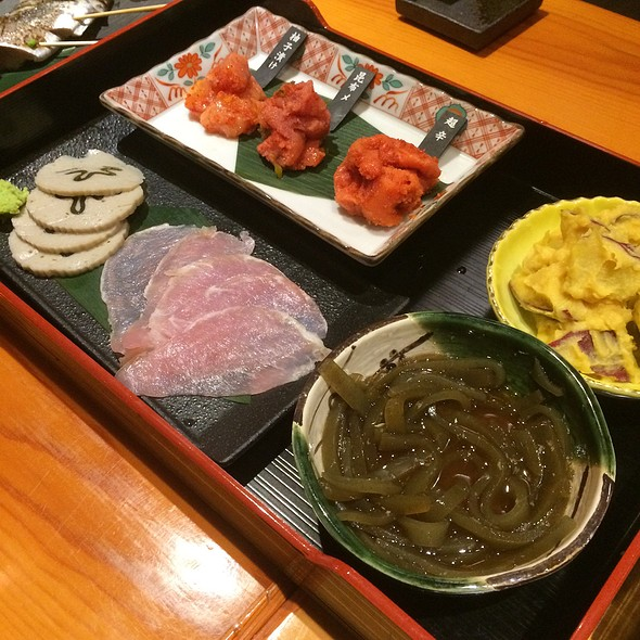 Assorted Appetizers @ 熱中屋新御茶ノ水LIVE