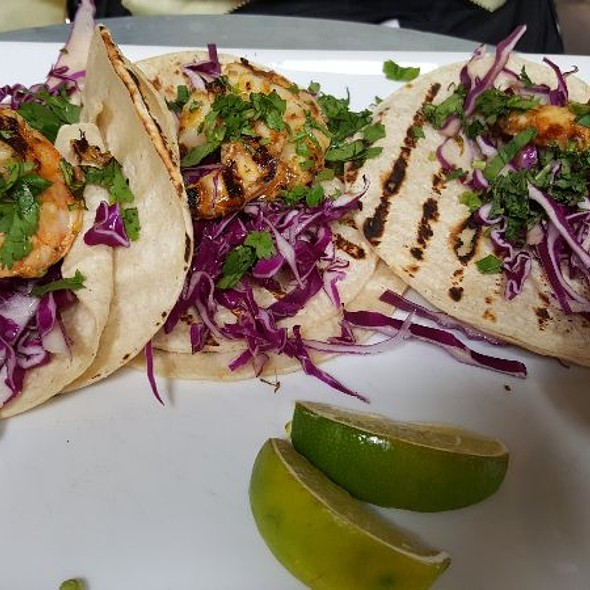 Shrimp Tacos @ H.S. Green
