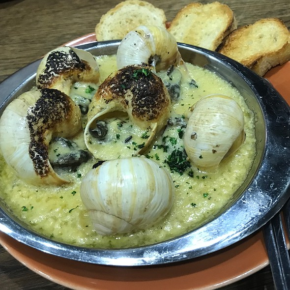 Escargots With Garlic Herb Butter