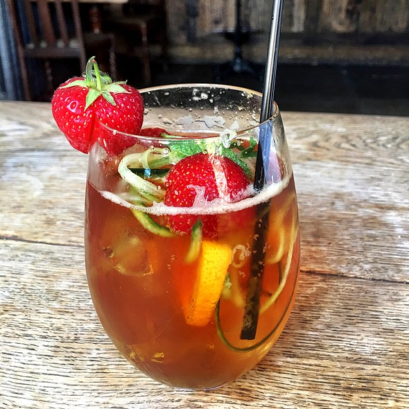 Pimms @ The Porch House