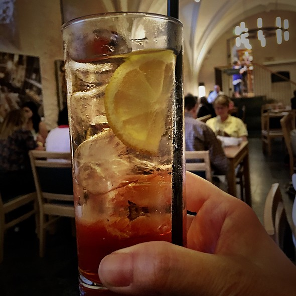 Aperol Spritz @ Cellarium Café & Terrace