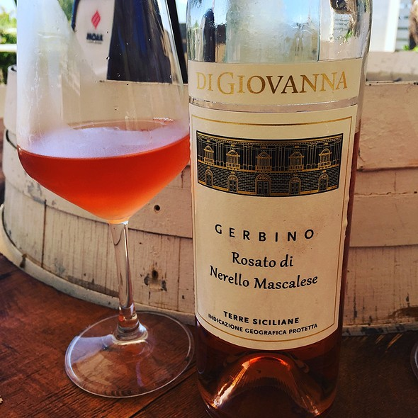local Rose wine
