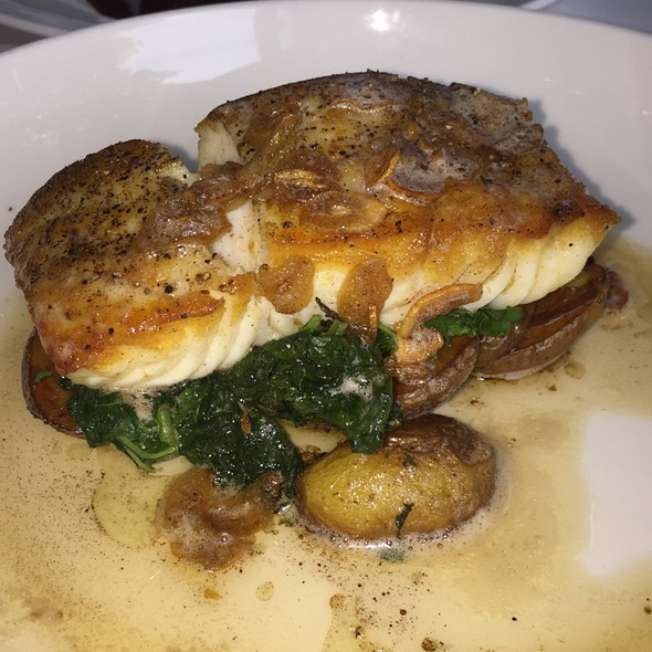 Brown Butter And Garlic Halibut