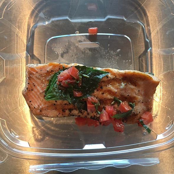 Grilled Salmon @ Eatzi's