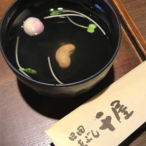 Kimosui ( Eel-Liver Soup )