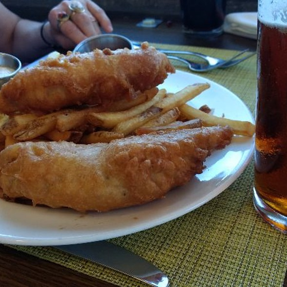 Fish and Chips @ Cindy's Waterfront