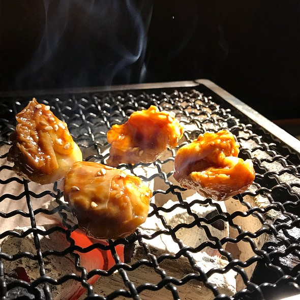 Grilled House Offal