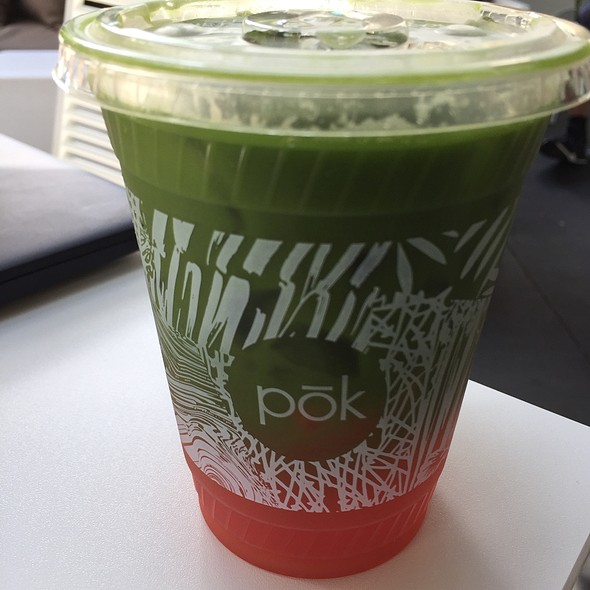 Matcha Watermelon @ Pok