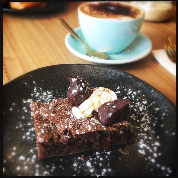 Chocolate Brownie @ Letterpress Cafe