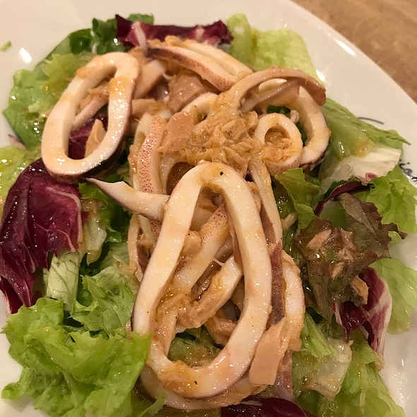 Salad With Squid And Tuna
