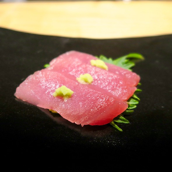 Big Eye Tuna Sashimi With Freshly Grated Wasabi