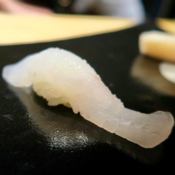 Halibut Nigiri With Yuzu Juice And Sea Salt