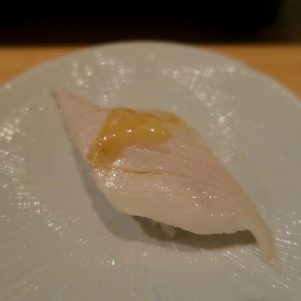 Black Cod Nigiri With Miso Mustard Sauce