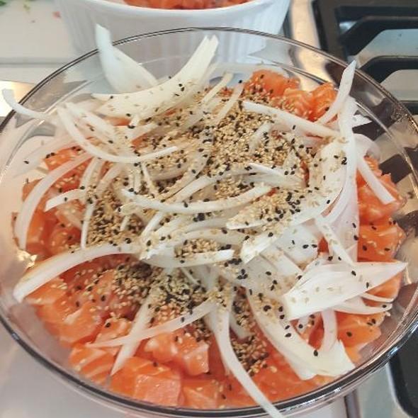 Salmon poke @ Home
