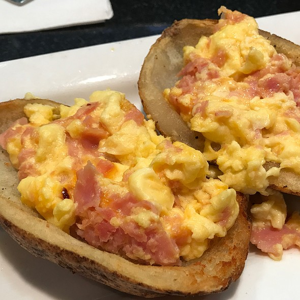 Breakfast Potato Skins @ T.G.I.Friday's