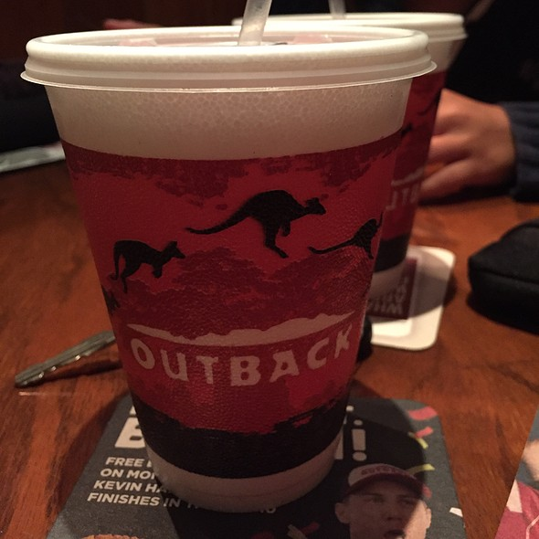 Cranberry Juice @ Outback Steakhouse