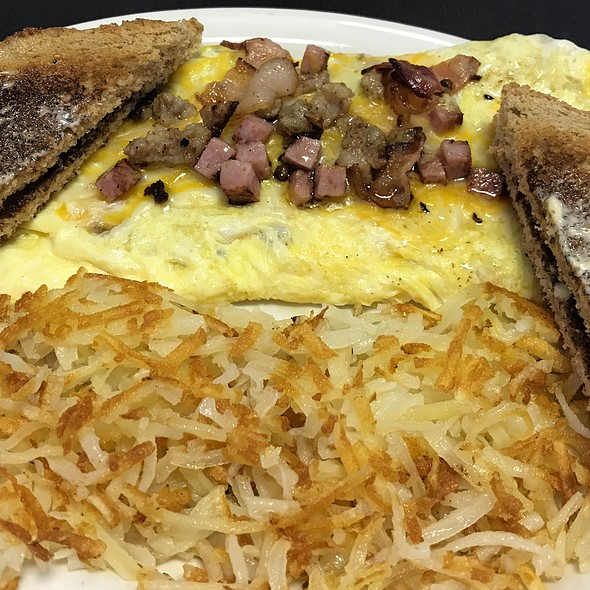 Meatlovers Omelette