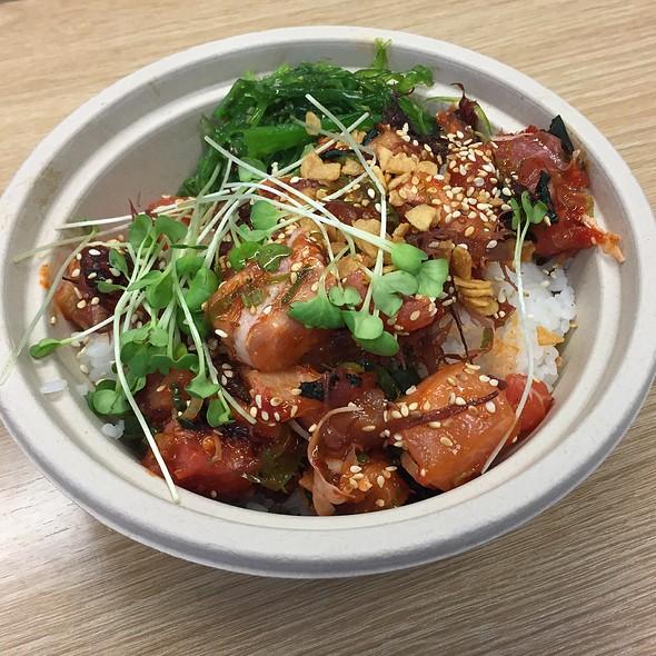 Ahi Tuna Poke Rice Bowl @ Kome Waza
