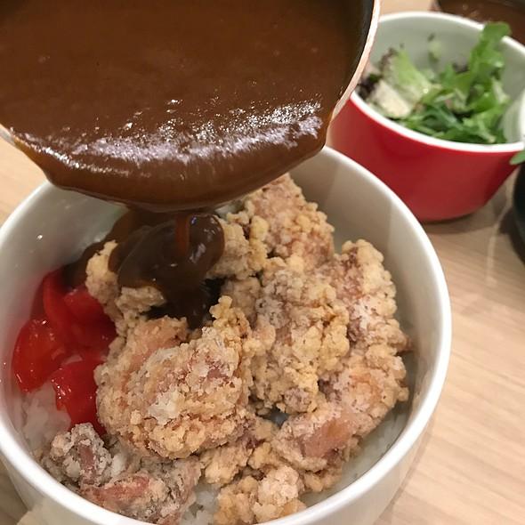 Chicken Karrage Japanese Curry