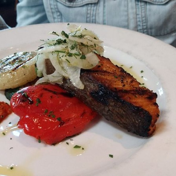 Grilled Salmon @ Rustic at Coppola Winery