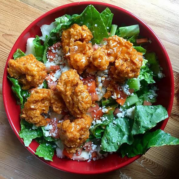 Buffalo Shrimp Salad @ Corner Tavern Hapeville
