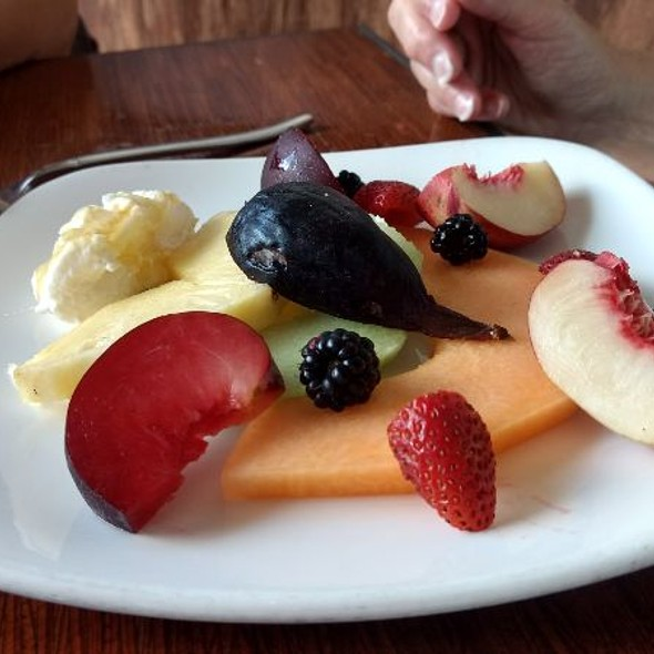 Fruit Plate @ Grace's Table