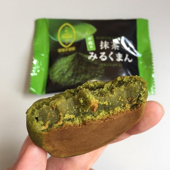 Okinawa Matcha Milk Tiny Bun