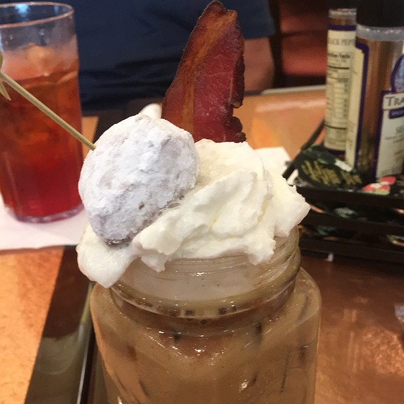 Spiked Nutella Iced Latte @ Another Broken Egg Cafe - Orange Beach