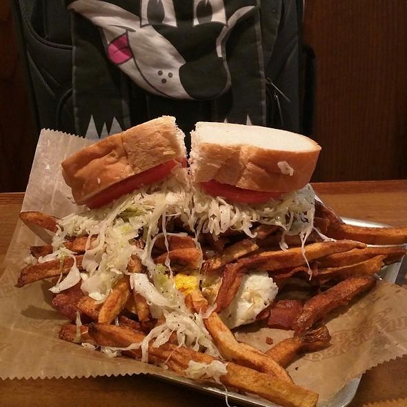 Bacon, Egg & Cheese Sandwich @ Primanti Bros.