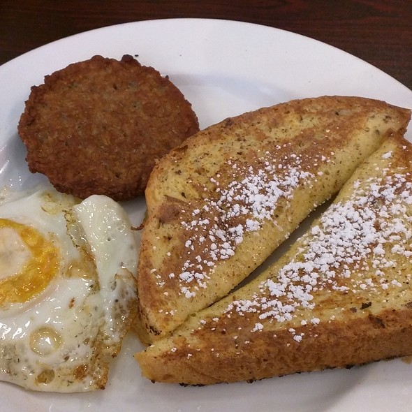 Breakfast Combo One with French Toast and Sausage @ Joe & Pie