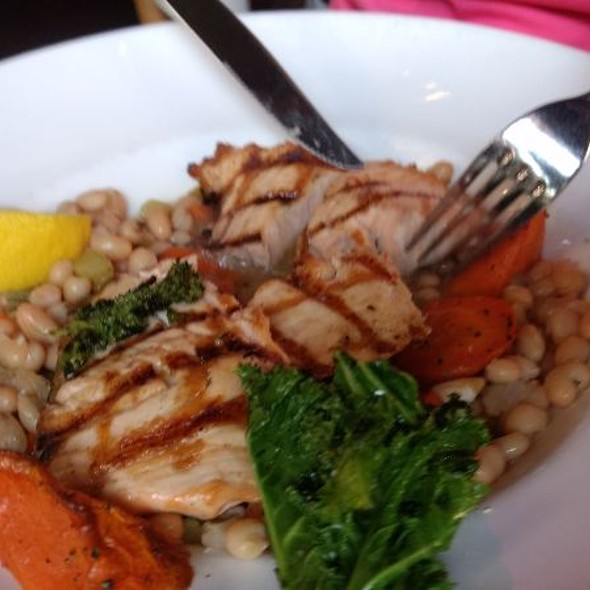 Grilled Salmon @ The Ahwahnee