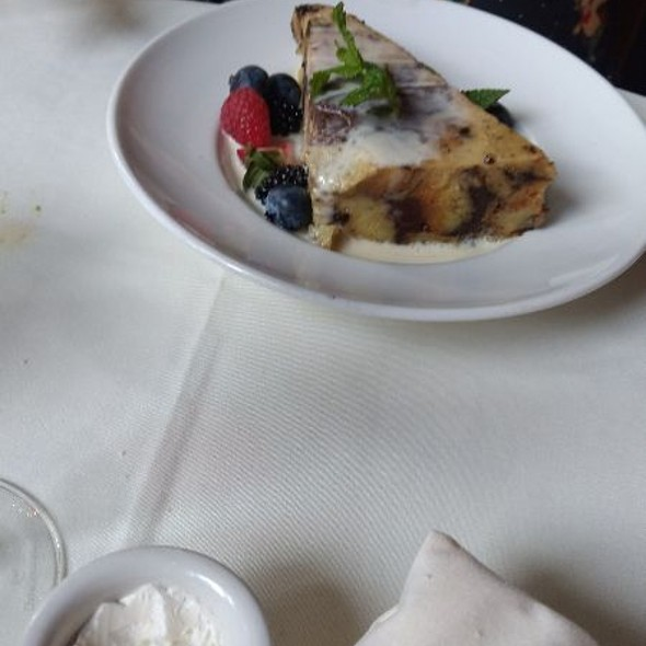 Triple Chocolate Bread Pudding @ The Ahwahnee