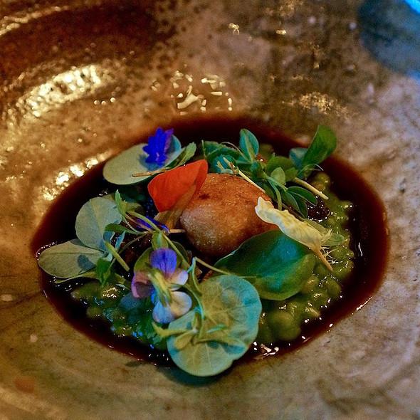 Sonoma grains – nettles, kasu-zuke, farro verde veignet, herbs