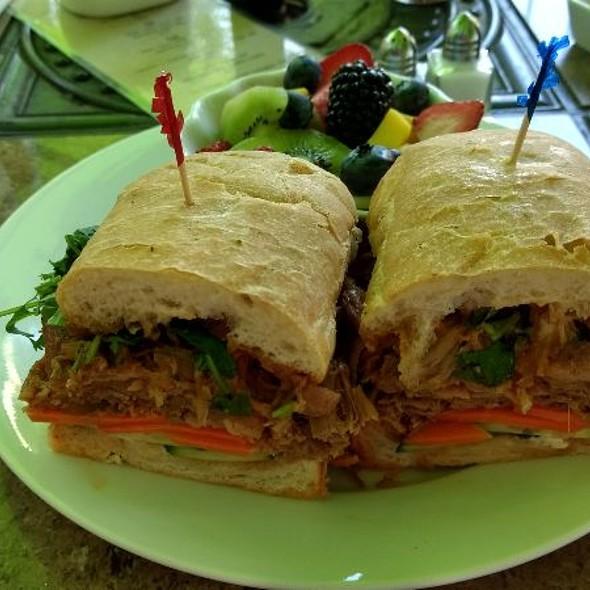 Pulled Pork Banh Mi Sandwich @ Wild Fig