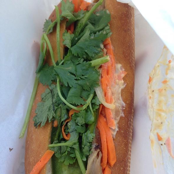 BBQ Chicken Banh Mi @ Saigon Sandwich