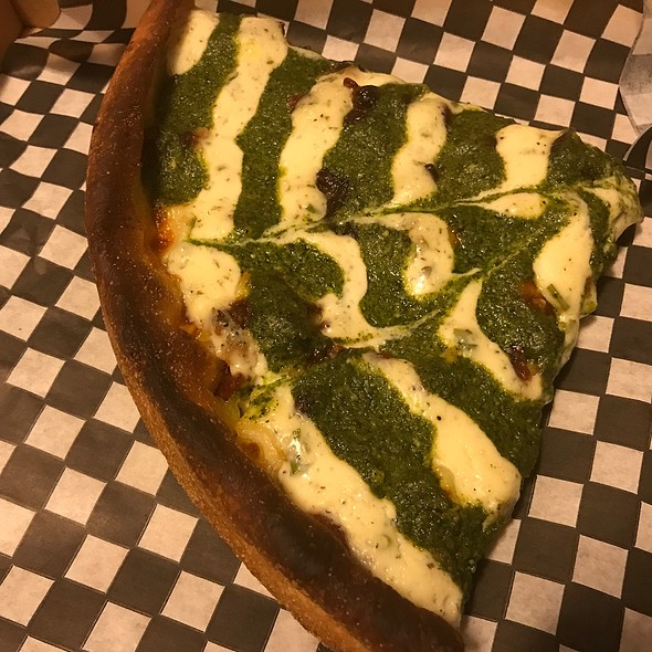 Pesto-Rriffic Chicago Deep Dish Pizza