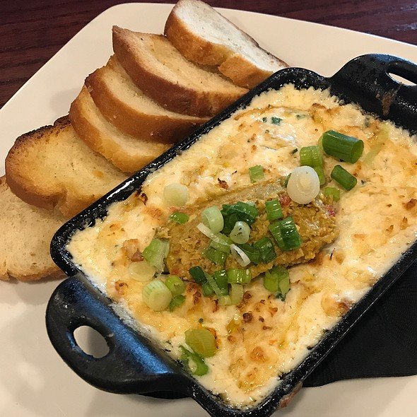Crab Dip @ The Whiskey Biscuit