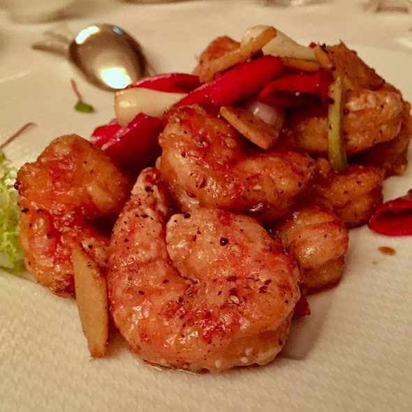 Sauteed Prawns With Ginger & Onions