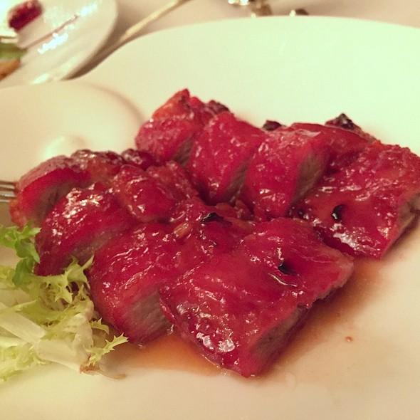 Bbq Iberian Pork With Honey