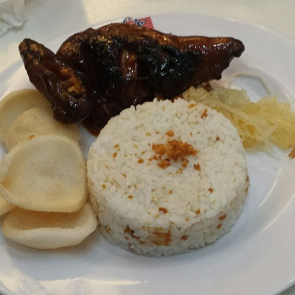 Chicken Bbq With Rice