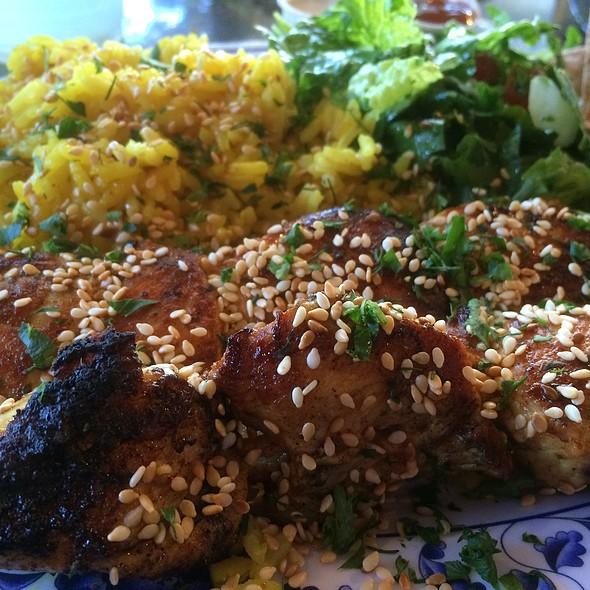 Chicken Skewer @ Jerusalem Organic Kitchen